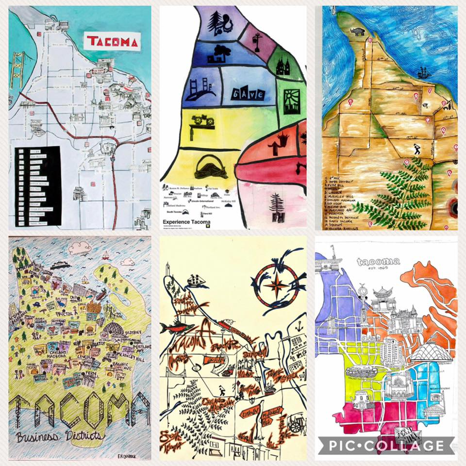 Draw the Districts Tacoma maps