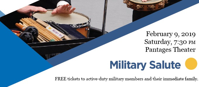 """The Tacoma Concert Band Presents """"Military Salute"""""""