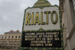 Tacoma Opera at the Rialto