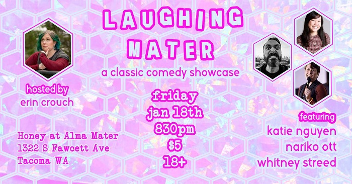 Laughing Mater January Comedy Showcase 2019