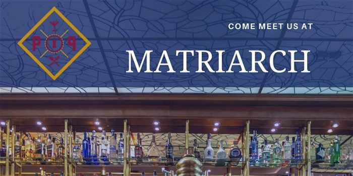 The People's Parlor Mixer Series: Matriarch Lounge