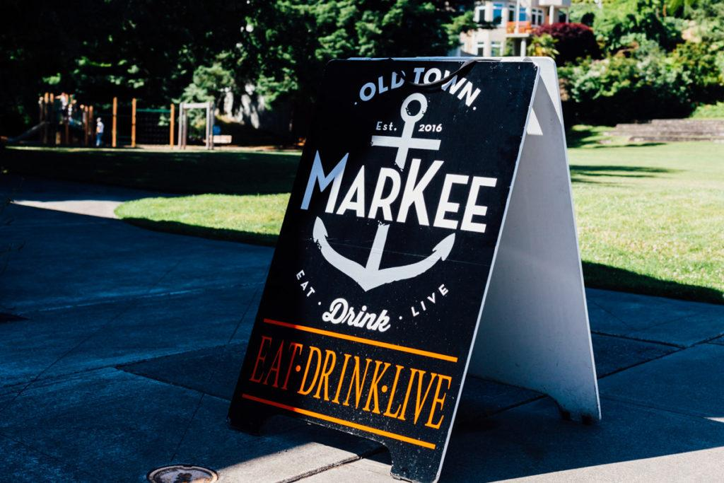 Old Town Markee Tacoma business by Focus in Photography