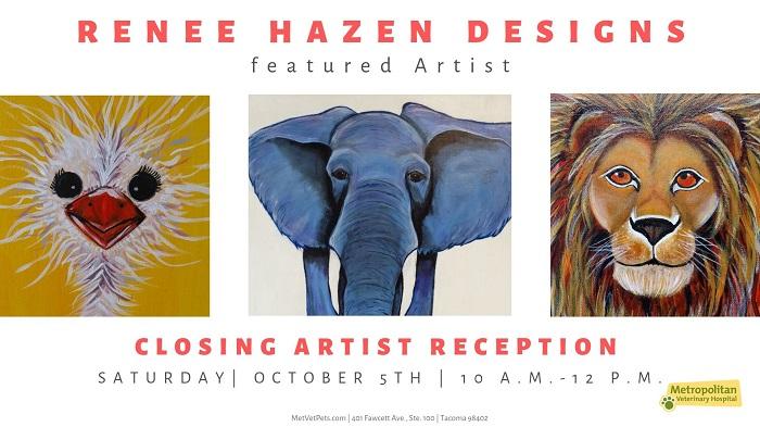 Closing Artist Reception   Meet Renee Hazen