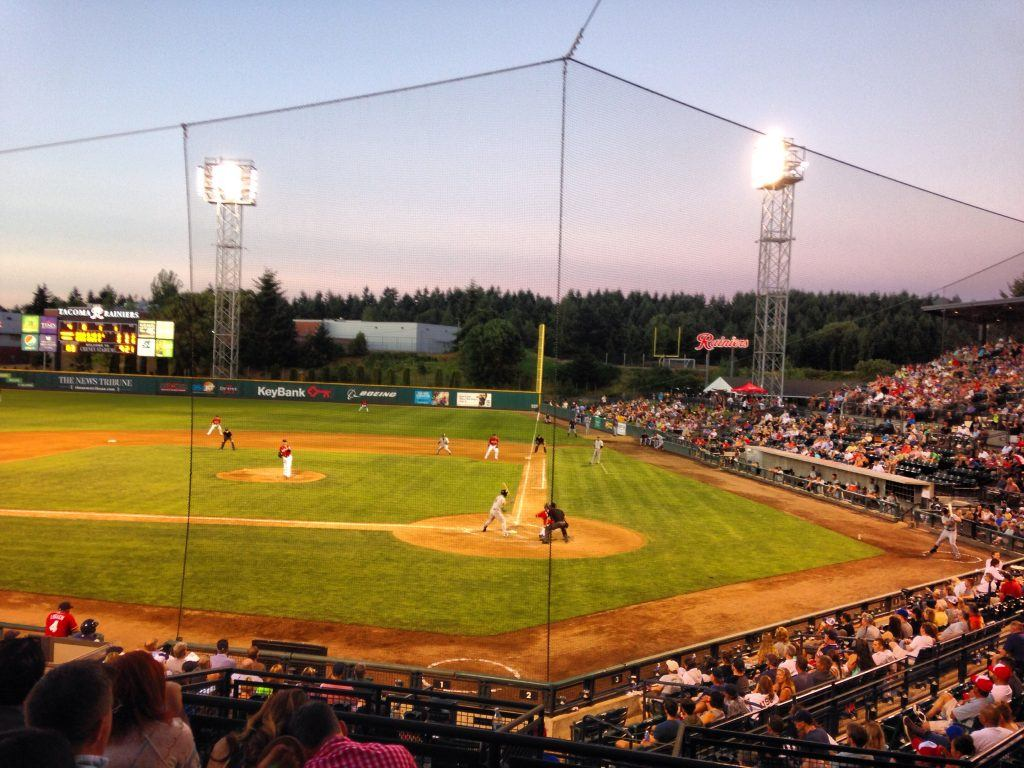 Cheney Stadium Tacoma Rainiers Baseball game Fathers Day event