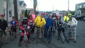 bike ride with city council