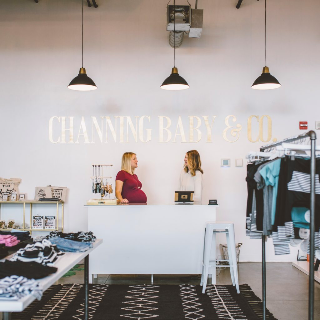 Tacoma small business Channing Baby Co