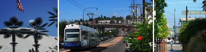 Tacoma Dome District in Tacoma, WA