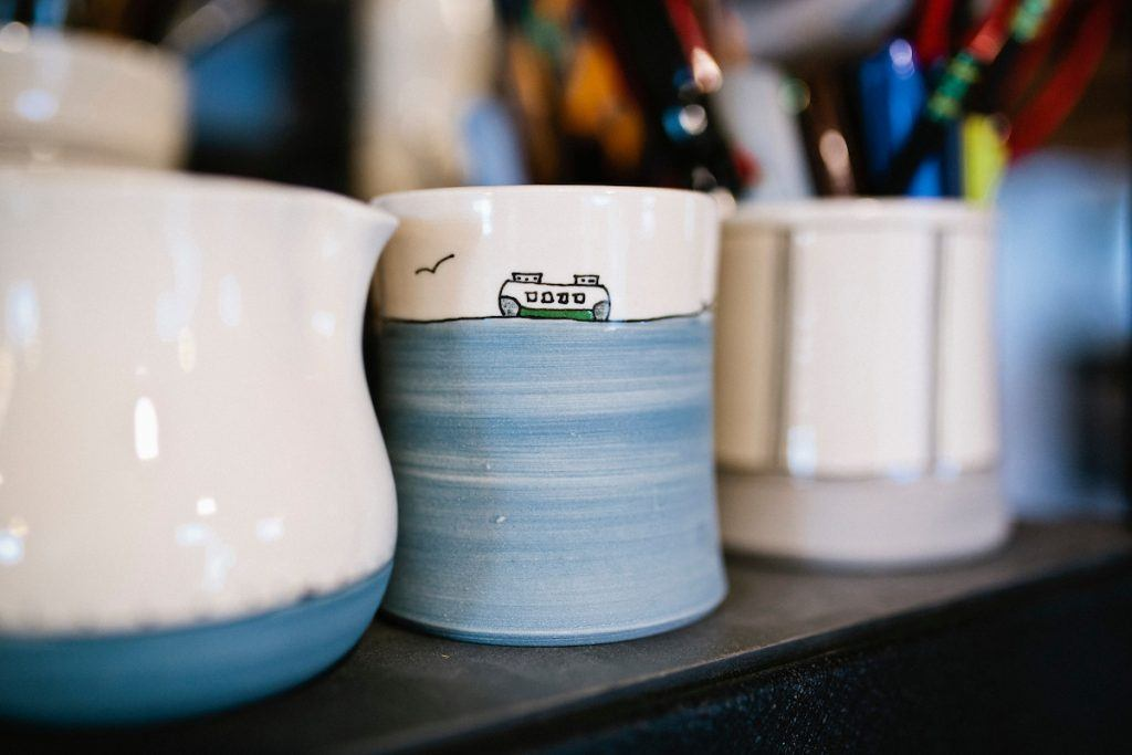 There is sentimental value in a good mug. Regardless of what's inside, the dish itself seems to hold a close comfort that Sarah Woodson of Downing Pottery ...